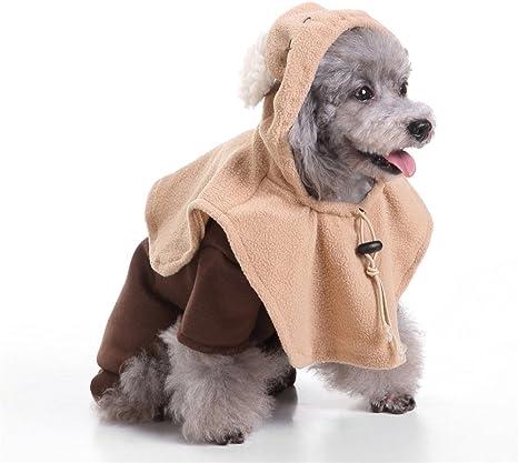 Disfraz de perro con capucha en forma de fantasma para disfraces ...