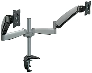 Amazoncom MountIt Monitor Desk Mount Dual Arm With Height