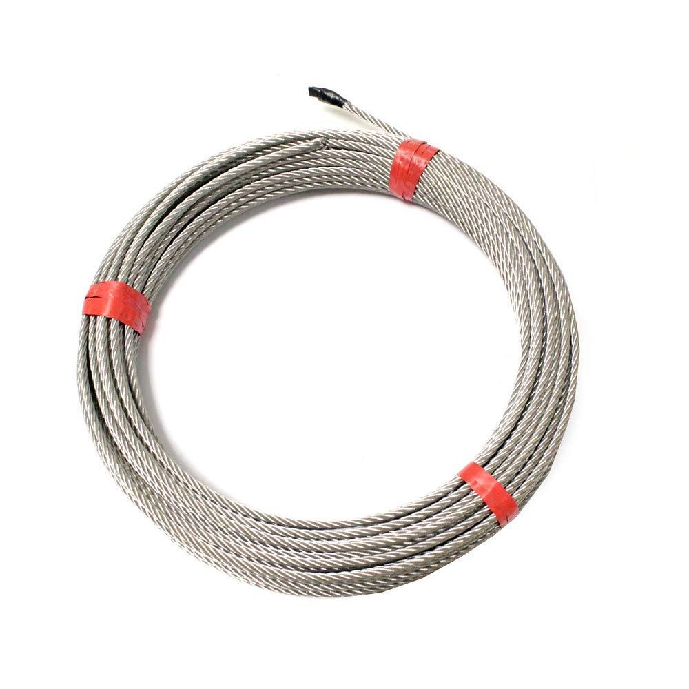 Cablematic Cable de acero inoxidable de 6,0mm 10m
