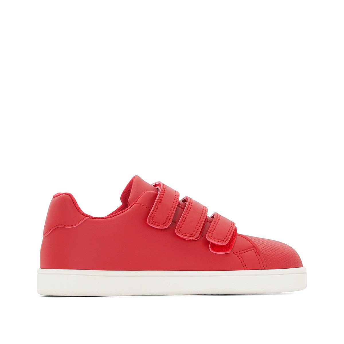 La Redoute Collections Big Boys Red Monochrome Trainers, Sizes 26-29 Red Size 39 (5.5 to 6)