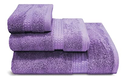 PimpamTex – Toalla Premium Extra Grande de baño 100% Algodón 100x150 cm – (Morado