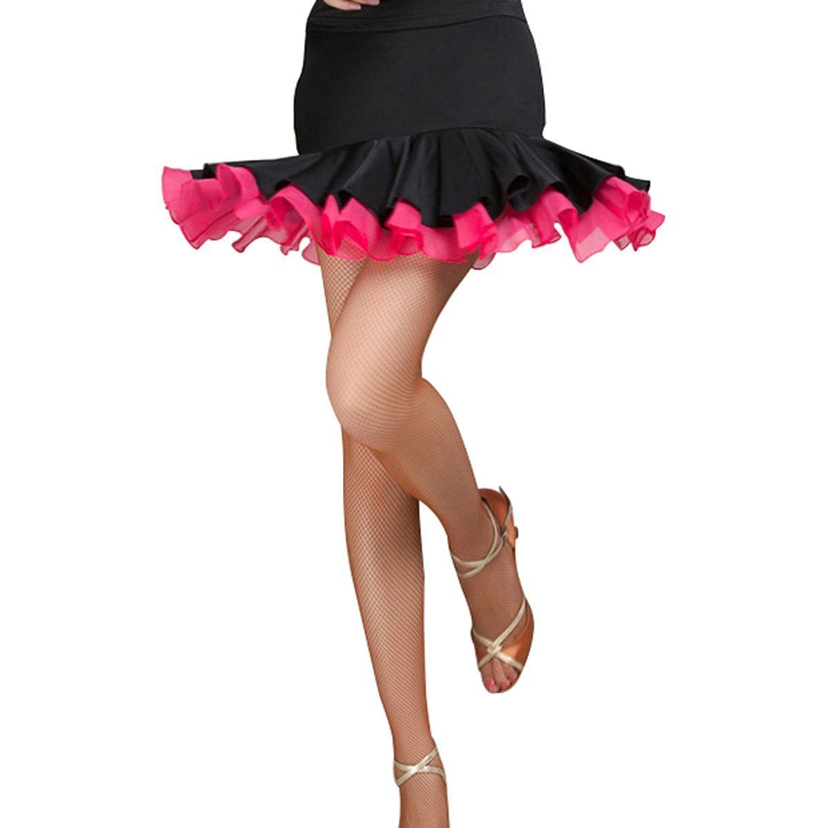 Pitping Latin Ballroom Dance Fishnet Tights Stockings for Dancer Seamless Tights Ballet