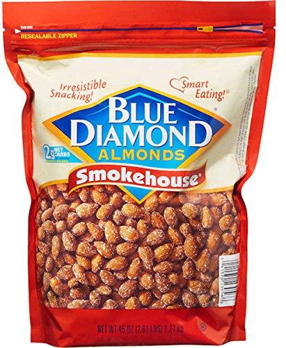 Blue Diamond Almonds Smokehouse Almonds, 38 (Diamond Tub)