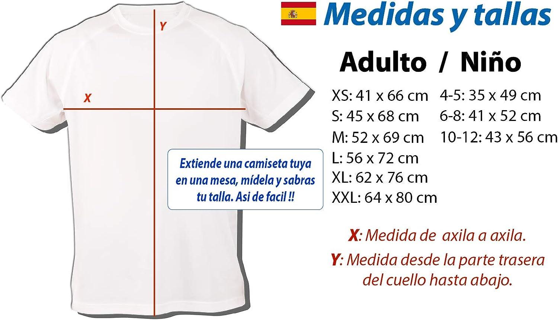 MERCHANDMANIA Camiseta Bandera ESPAÑA Pais Unido Tshirt: Amazon.es: Ropa y accesorios