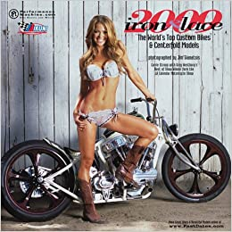 Iron & Lace 2009 Custom Motorcycle and Centerfold Model