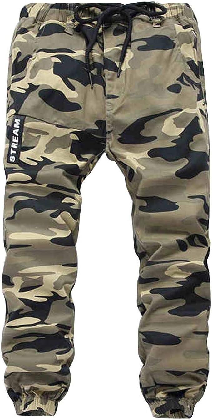 Laus Pantalones Camuflaje niño Cintura Elastica - Pantalón Jogger niño - Pantalon de Cargo para niños: Amazon.es: Ropa y accesorios