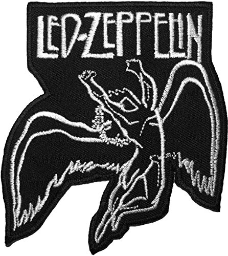[The Led-Zeppelin Music Band Logo Jacket Vest shirt hat blanket backpack T shirt Patches Embroidered Appliques Symbol Badge Cloth Sign Costume] (80s Singers Costumes)
