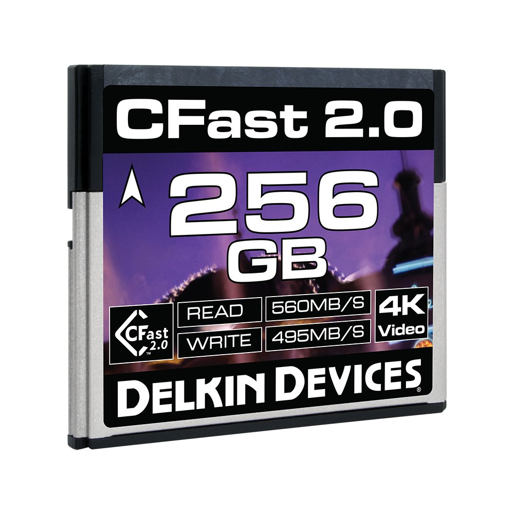 Delkin Cine CFast 2.0 Tarjeta de Memoria 128 GB: Amazon.es ...