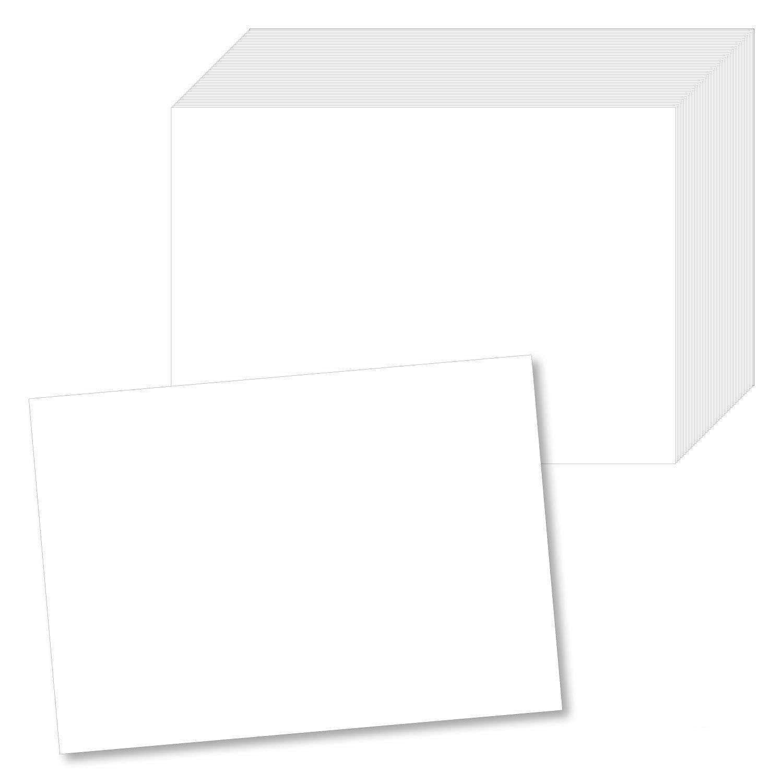 #detailverliebt 100 Papier-Tischsets Weiß I DV_141 I Din A3 I Platzset Platzdecken Tisch-Unterlage Platzmatte Blanko Neutral 100 Stück easydruck24de