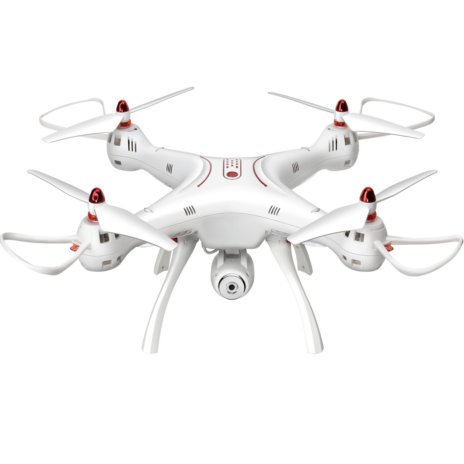 Syma X8SC 4 Channel 2.4G Remote Control Quadcopter Drone With HD Camera One Key Take off and Landing by DoDoeleph