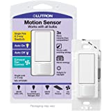 Lutron MS-OPS5M-WH Occupancy Sensor Switch, 1 pack, White