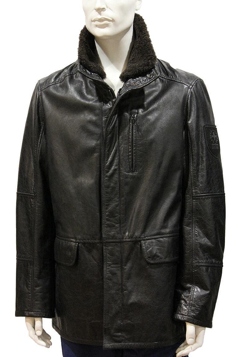 Strellson Herren Lederjacke Swiss Cross leather jacket SPW