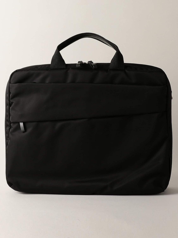 (ワークトリップ アウトフィッツ) 【WORK TRIP OUTFITS】PE WATER REPELLENT fabric ダブル ブリーフバッグ 33326990055 Free BLACK(09) B07PNKVM8M