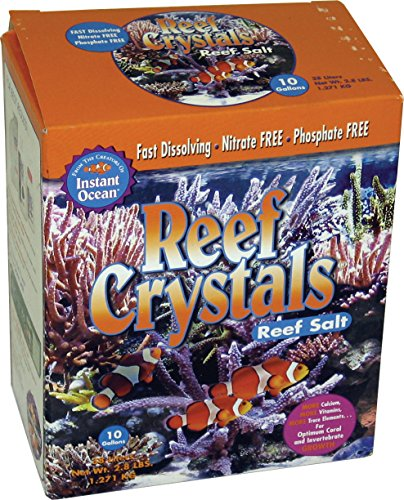 Instant Ocean Reef Crystal Sea Salt Marine Mix, 10-Gallon -
