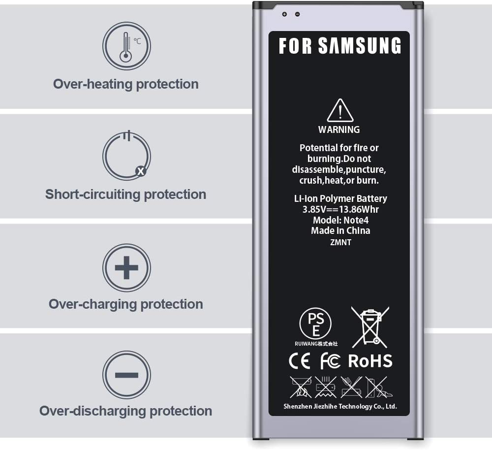 Kompatibel mit Allen Galaxy S5 Mini-Modellen ZMNT 2500mAh Neu Ersatz Akku f/ür Samsung Galaxy S5 Mini