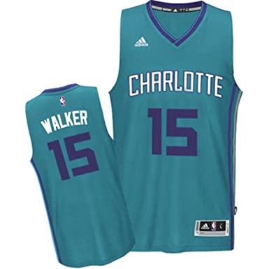 17de036b6 Adidas Charlotte Hornets Kemba Walker Teal Player Swingman Youth Jersey  (Youth Small)