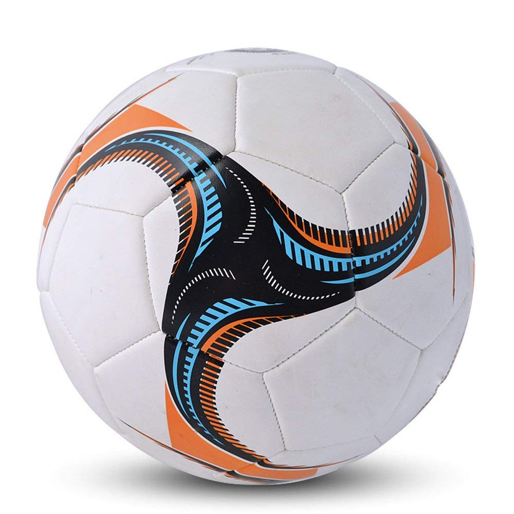 Liuxina Children's Football for Outdoor Indoor Match Children Classic Training Soccer Ball PVC Boys Soccer Ball Official Size 5 Football Toy Great Gift for Boys and Girls by Liuxina