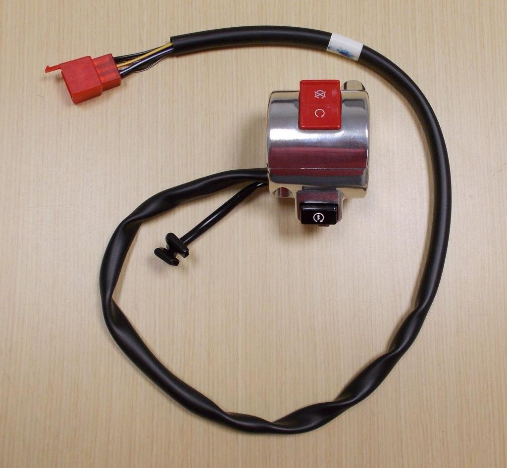 Amazon.com: 2005-2009 Honda VTX 1300 VTX1300 VTX1300R Electric Start Stop  Kill Switch: Automotive