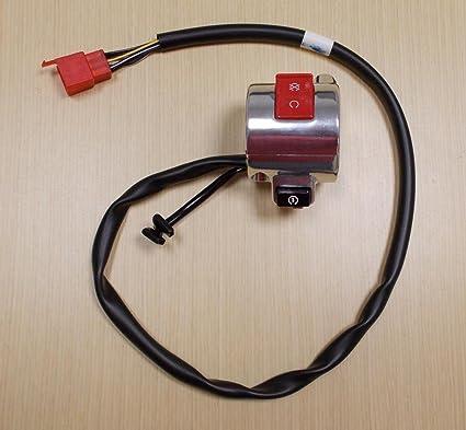 amazon com: 2005-2009 honda vtx 1300 vtx1300 vtx1300r electric start stop  kill switch: automotive