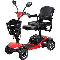 Msoah Andador para Ancianos, Scooter Eléctrico para Discapacitados