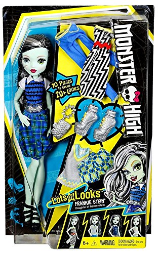 Monster High Lots of Looks Frankie Stein & Fashion Doll