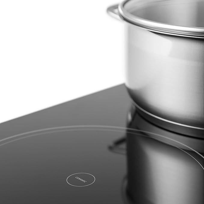 Klarstein Virtuosa Placas Cocción - Cocina vitrocerámica ...