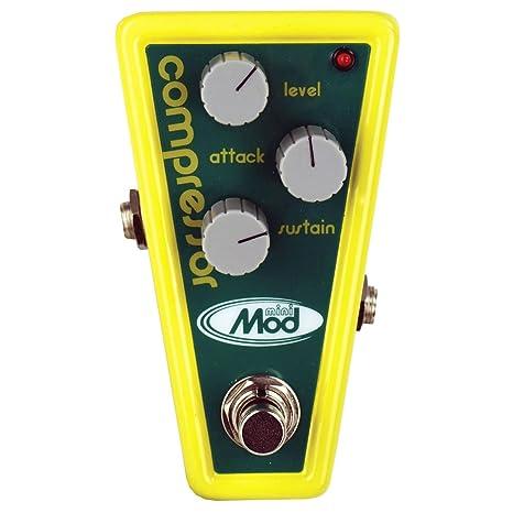 Modtone efectos de guitarra Mini Mod mtm-cp poco limón Compresor eléctrico guitarra