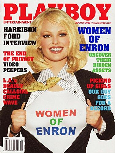 Playboy Magazine - August 2002 - Women of Enron