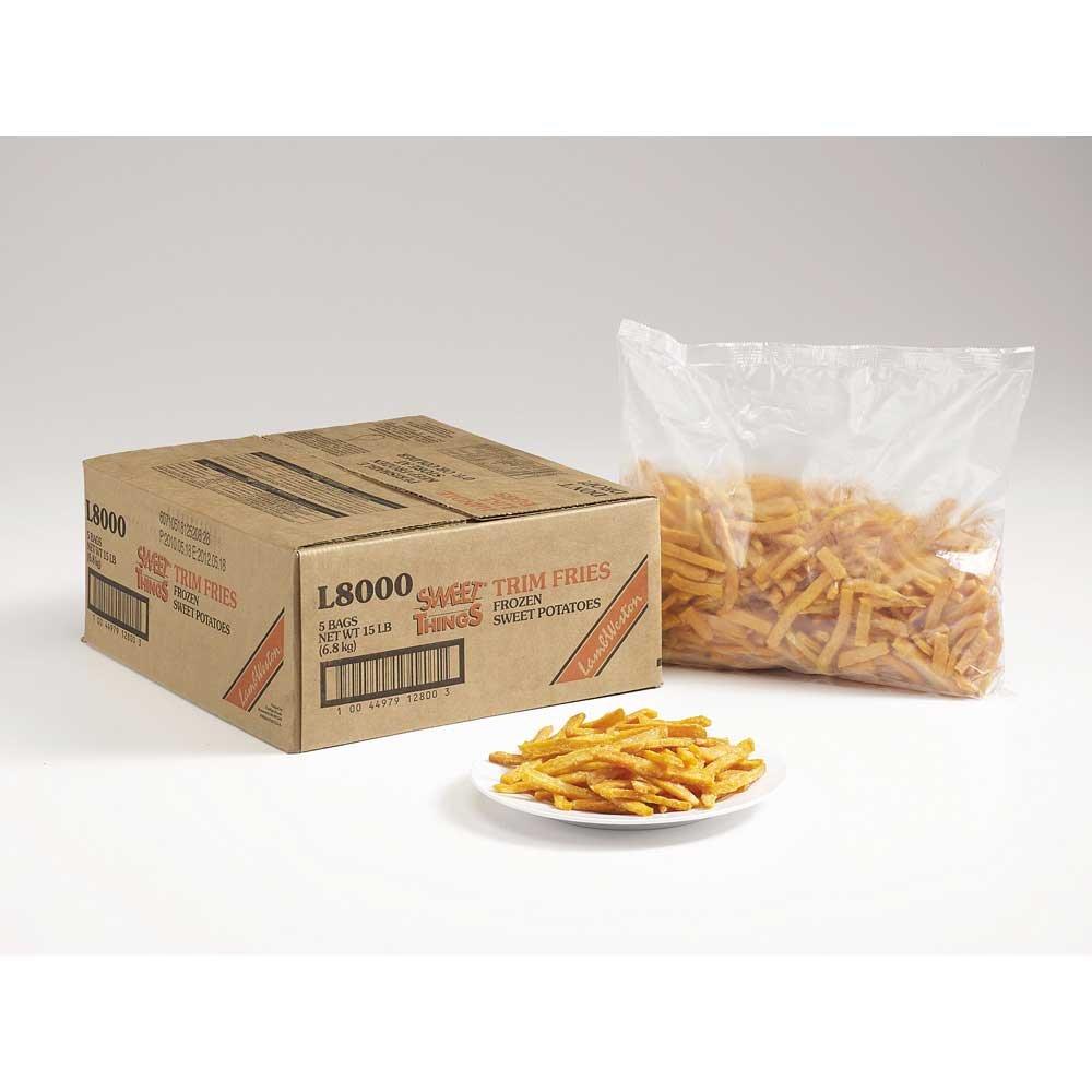 Lamb Weston Sweet Things Julienne Potato Trim Fry Snack, 2.5 Pound - 6 per case.