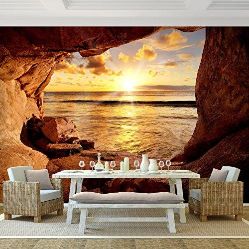 Vlies Fototapete 'Strand' 352x250 cm - 9071011a RUNA Tapete