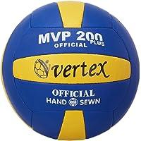 Vertex 400332 Voleybol Topu, Unisex, Sarı Beyaz Mavi, Standart