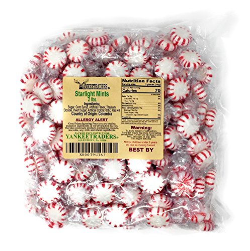 (Yankee Traders Brand Peppermint Striped Balls - 2 Lbs)