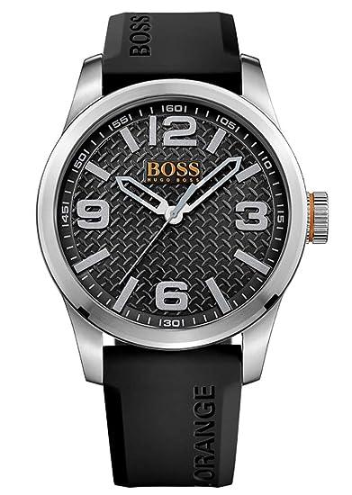 e313f9f506c0 Hugo Boss 1513350 Orange - Reloj analógico de pulsera para hombre ...