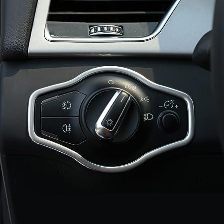 Scheinwerfer Lichtschalter Blenden Zierleisten für Audi A4 S4 A5 S5 RS4 RS5 Q5
