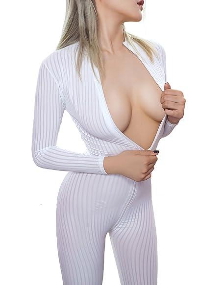 sexy white spandex