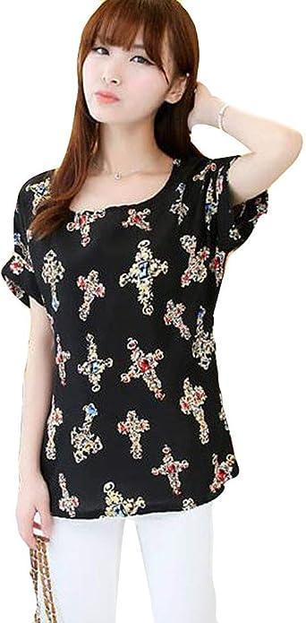 Camisetas Vestir Mujer Ronamick Flores Lace Blusa Navidad Mujer Tops Deportivos Flores Lace Ballenas Camisa (Blanco,M): Amazon.es: Iluminación
