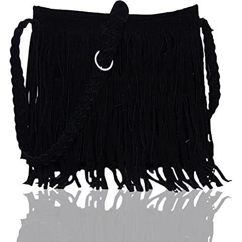 Fringe Purse Suede Tassel Shoulder Bag