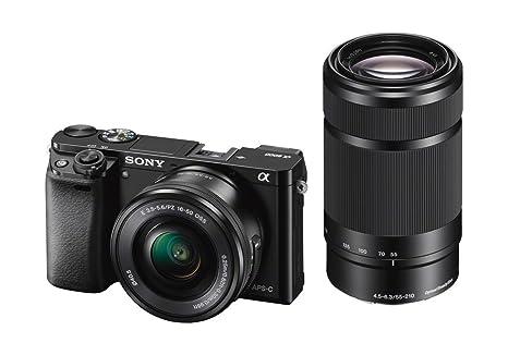 Sony A6000 - Cámara EVIL de 24 Mp (pantalla LCD 3