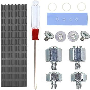 Amazon Com Qteatak Pcie Nvme M 2 2280 Ssd Heatsinks Cooler