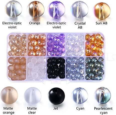Glass Seed Beads 10 Frosted Color Craft Project Jewelry Bracelet Necklace Making