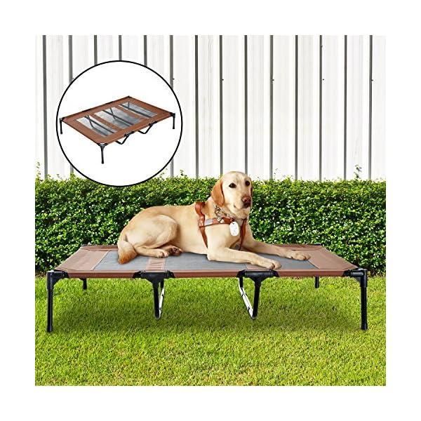 61UirE9SmJL Pawhut Hundeliege Hundebett Liegeplatz Hundesofa Haustierbett Hunde 122x92x23cm