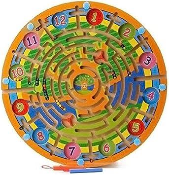 Tableros de garabatos Tablero de Dibujo 15 7 × 15 7 × 0 7 Pulgadas Almohadillas de Dibujo borrables con Laberinto Juego Puzzle Tablero Madera Niño Niña Regalo: Amazon.es: Juguetes y juegos