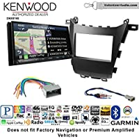 Volunteer Audio Kenwood DNX874S Double Din Radio Install Kit with GPS Navigation Apple CarPlay Android Auto Fits 2013-2016 Honda Accord