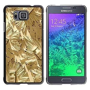 [Neutron-Star] Snap-on Series Teléfono Carcasa Funda Case Caso para Samsung ALPHA G850 [Partidos Arte Fuego profundo Metáfora Significado]