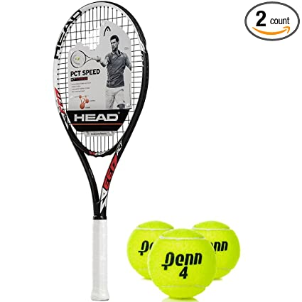 HEAD PCT Speed Oversized/Extended 16x19 NanoTitanium Black/Red/White Tennis Racquet (