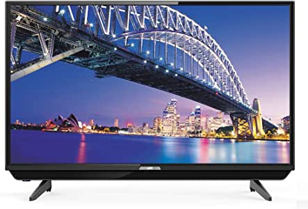 JVC 32 inches HD LED Television with Soundbar (Renewed)