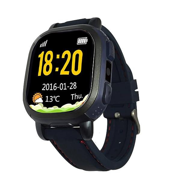 qqwatch deporte Smartwatch rastreador de GPS llamada mensaje ...