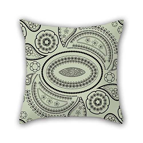 pillo-18-x-18-inches-45-by-45-cm-paisley-pillow-casestwo-sides-is-fit-for-adultssonliving-roomgril-f