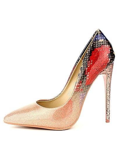 Cendriyon, Escarpin Rose MULANDA Chaussures Femme