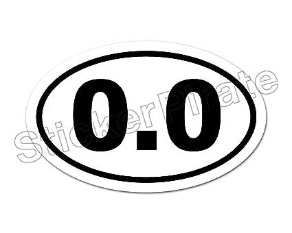 Amazon Com Oval Euro Car Magnet 0 0 Marathon Runner Dont Run